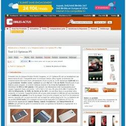 Test du LG Optimus F5