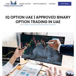 Approved Binary Option Platform UAE