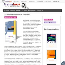 Framabook - Option Libre. Du bon usage des licences libres