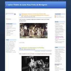 L'option Théâtre du lycée Rosa Parks de Montgeron