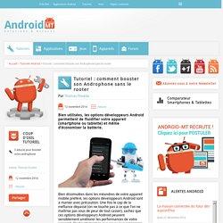options développeurs Android : comment booster votre appareil Android MT
