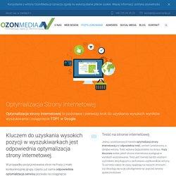 Optymalizacja strony internetowej - SEO - OzonMedia