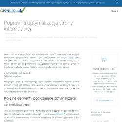 Poprawna optymalizacja strony internetowej - OzonMedia.pl