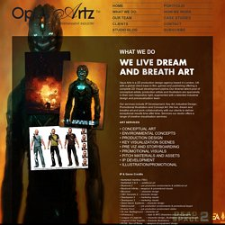 Opus Artz Concept Art & Production Studio