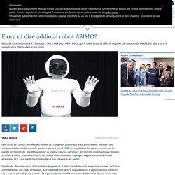 È ora di dire addio al robot ASIMO?