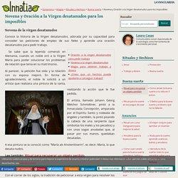 Novena y Oración a la Virgen desatanudos para los imposibles - Innatia.com