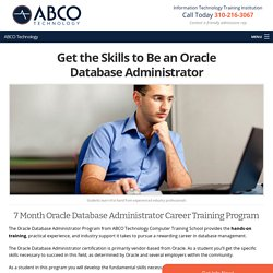 Get the Skills to Be an Oracle Database Administrator