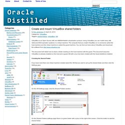 Oracle Distilled