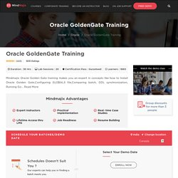 Oracle GoldenGate Training - Live Oracle GoldenGate Online Training