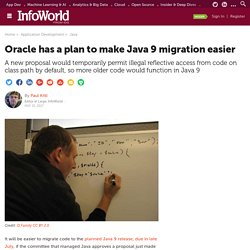 Oracle has a plan to make Java 9 migration easier