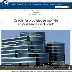 Oracle: la prodigieuse montée en puissance du « Cloud »