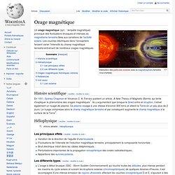 Orage magnétique