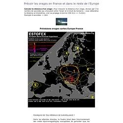 Les orages : Pr voir les orages en France et dans le reste de l'Europe