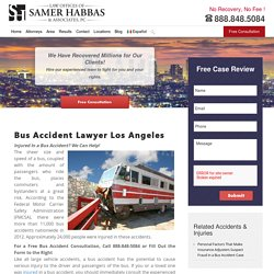 Orange County Bus Accident Lawyer - Bus Accident Attorney