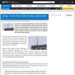 Orange : à Saint-Cloud, antennes-relais ou épouvantails ?