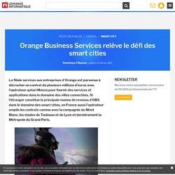Orange Business Services relève le défi des smart cities