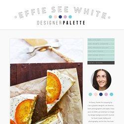 Orange Cake — effie SEE white