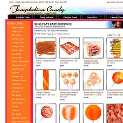 Orange Candy from Temptation Candy