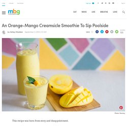 Orange-Mango Creamsicle Smoothie Recipe (Vegan)