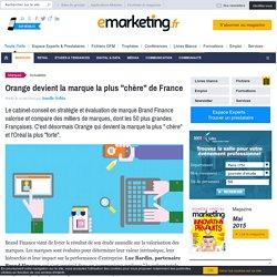 """Orange devient la marque la plus """"chère"""" de France"""