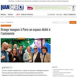 Orange inaugure à Paris un espace dédié à l'autonomie
