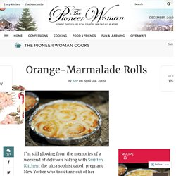 Orange-Marmalade Rolls