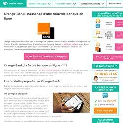 Orange Bank : naissance d'une nouvelle banque en ligne