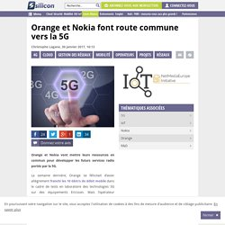Orange et Nokia font route commune vers la 5G
