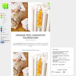 Orange Peel Hanger by TourDeFork