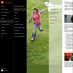 Orange propose plus de 2500 offres en alternance
