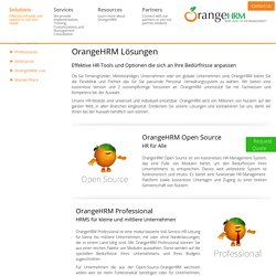 OrangeHRM German Website