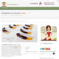 Orangettes au chocolat