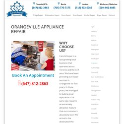 Appliance Repair Orangeville