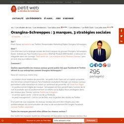 Orangina-Schweppes : 3 marques, 3 stratégies sociales