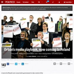 Orbán's media playbook, now coming to Poland