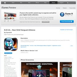N.O.V.A. on the App Store