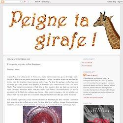 Peigne ta girafe! : L'orcanette pour des reflets Bordeaux