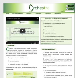Orchestra: Open Source BPEL / BPM Solution - Orchestra : The Open Source BPEL solution