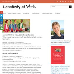 Orchestrating Collaboration at Work: Table of Contents