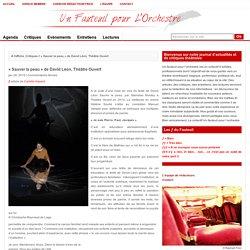 « Sauver la peau » de David Léon, Théâtre Ouvert