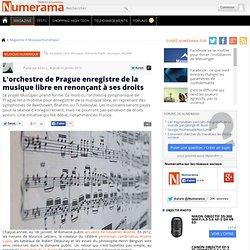 L'orchestre de Prague enregistre de la musique libre en renonçant à ses droits