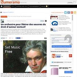 Un orchestre pour libérer des oeuvres du droit d'auteur exclusif - Numerama