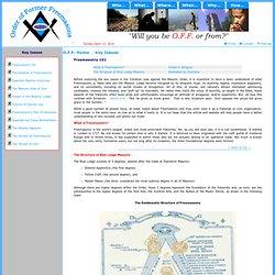 Freemasonry 101