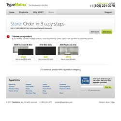 Order Your TypeMatrix today