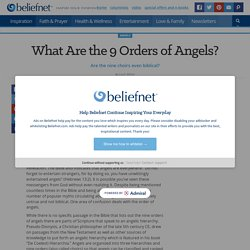 What Are the 9 Orders of Angels?