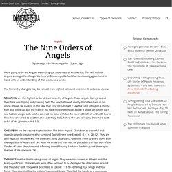 The Nine Orders of Angels