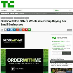 OrderWithMe Offers Wholesale Group Buying For Small Businesses