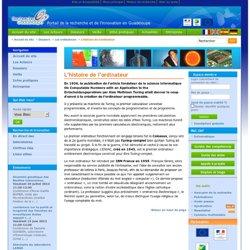 L'histoire de l'ordinateur - Recherche-Guadeloupe