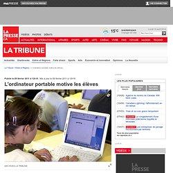 L'ordinateur portable motive les élèves