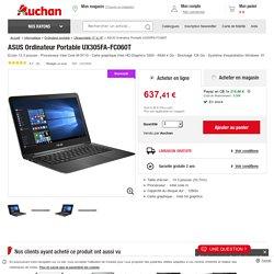 ASUS Ordinateur Portable UX305FA-FC060T Ecran 13.3 pouces - Processeur Inte